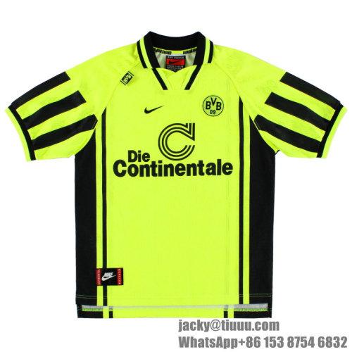 Dortmund 1996-1997 Riedle Home Retro Jersey