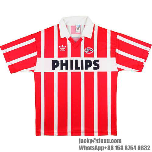 PSV 1990-1992 Home Retro Soccer Jersey