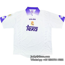 Real Madrid 1997-98 Home Retro Jersey