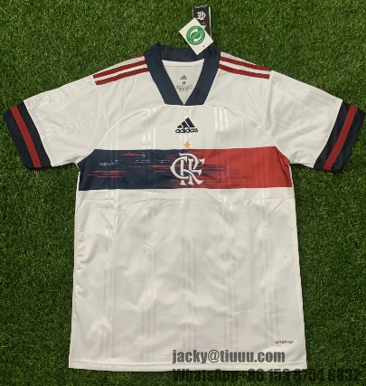 Thai Version Flamengo 20/21 Away Soccer Jersey