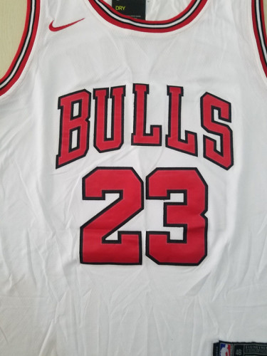 Chicago Bulls Michael Jordan 23 White Classics Jerseys