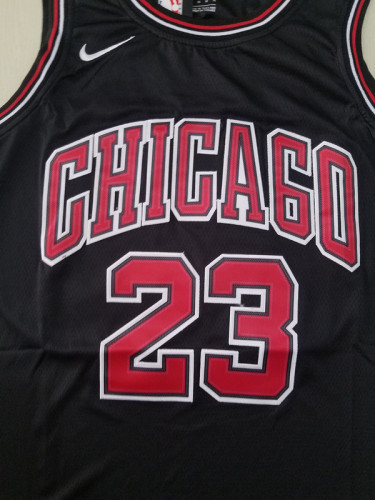 Chicago Bulls Michael Jordan 23 Black Classics Jerseys