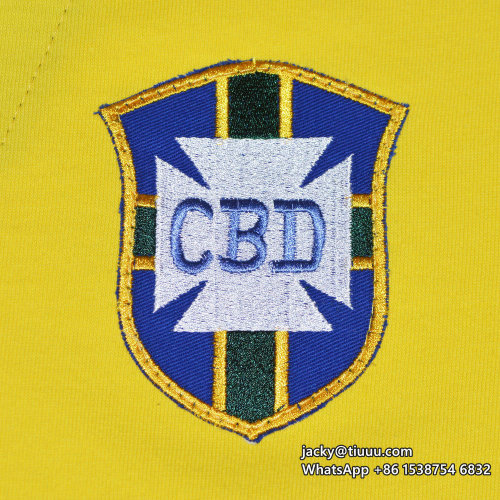 Brazil 1958 World Cup Home Retro Jersey