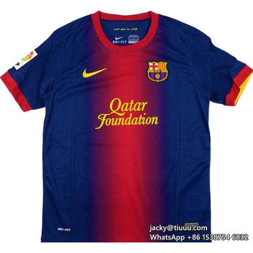 Barcelona 2012-2013 Fàbregas Home Retro Jersey