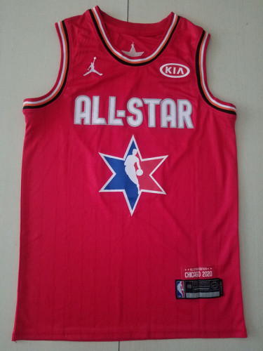 Lebron James 23 Red 2020 All Star Classics Basketball Jerseys