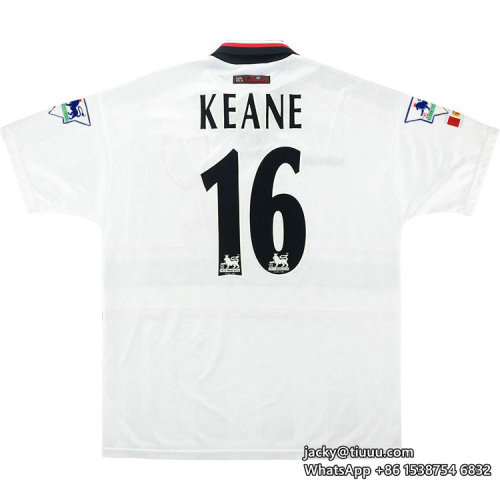 Manchester United 1997-99 Keane Away Retro Jersey