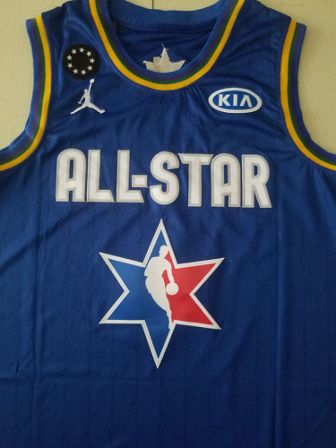 Lebron James 23 Blue 2020 All Star Classics Basketball Jerseys