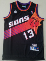 Phoenix Suns Steve Nash 13 Black Throwback Classics Basketball Jerseys