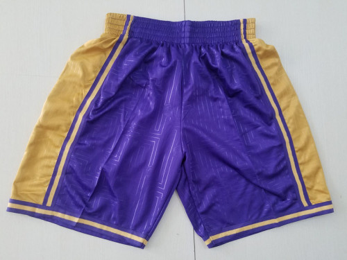 Los Angeles Lakers Purple Basketball Club Shorts