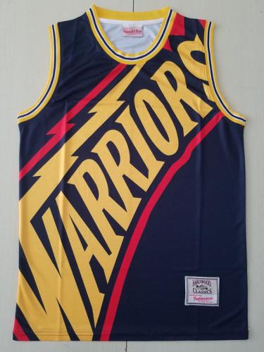 Golden State Warriors Black Throwback Classics Basketball Jerseys