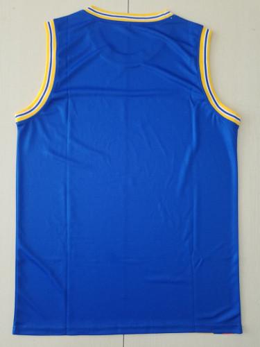 Golden State Warriors Blue Throwback Classics Basketball Jerseys