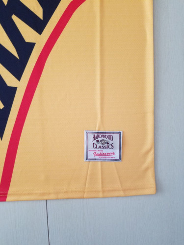 Golden State Warriors Yellow Throwback Classics Basketball Jerseys