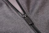 Milwaukee Bucks Gray Full-Zip trake Hoodie Jacket and Pants H006
