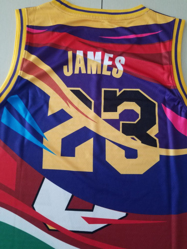 Cleveland Cavaliers Lebron James 23 Throwback Classics Basketball Jerseys