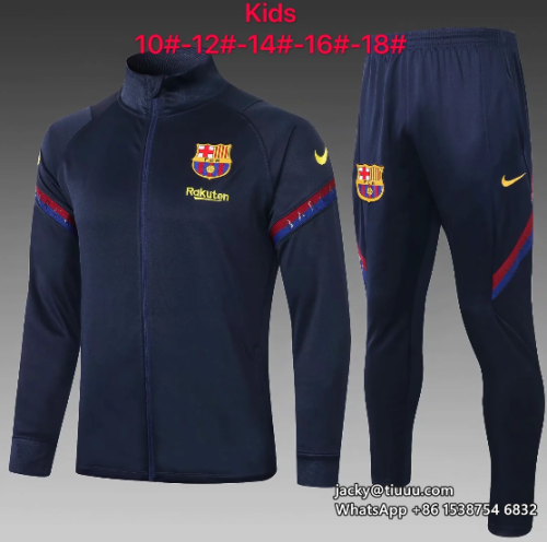 Barcelona 20/21 Kids Jacket and Pants - E448
