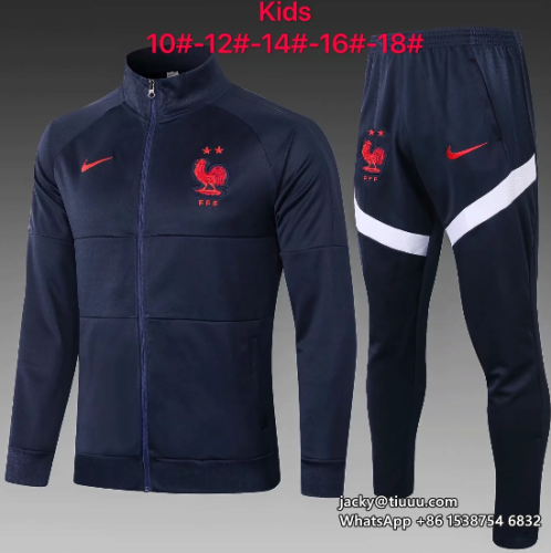 France 2020 Kids Jacket and Pants - E459