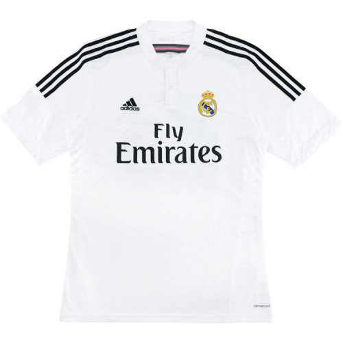 Real Madrid 2014-2015 James Home Retro Jersey