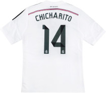 Real Madrid 2014-2015 Chicharito Home Retro Jersey