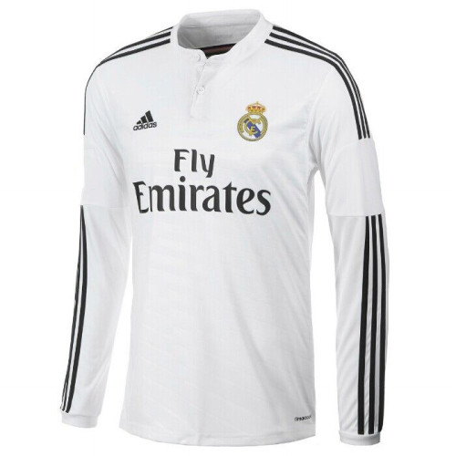 Real Madrid 2014-2015 James Home Retro L/S Jersey