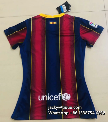 Thai Version Barcelona 20/21 Women's Home Soccer Jersey