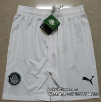 Thai Version Palmeiras 20/21 Home Soccer Shorts