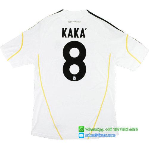 Real Madrid 2009-2010 Kaka Home Retro Jersey