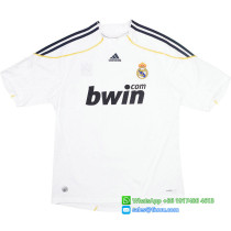 Real Madrid 2009-2010 Home Retro Jersey