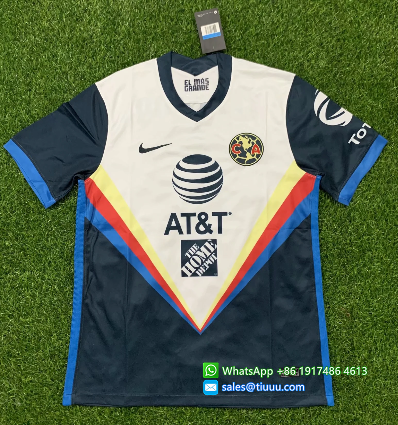 Thai Version Club America 20/21 Away Soccer Jersey