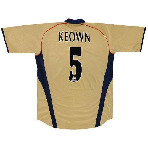Arsenal 2001-02 Keown Away Retro Jersey
