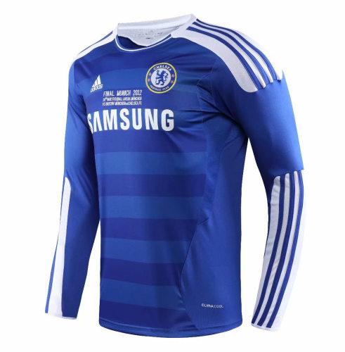 Chelsea 2011/2012 Home LS Retro Soccer Jerseys