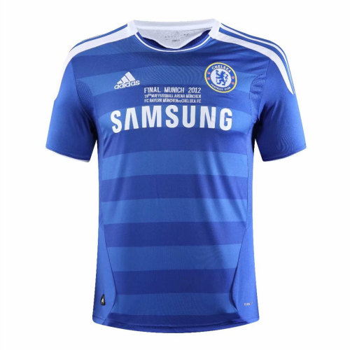 Chelsea 2011/2012 Home Retro Soccer Jerseys