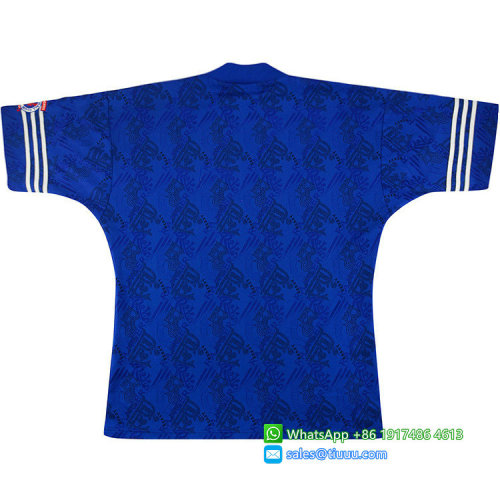 Rangers 1994-1996 Home Retro Soccer Jersey