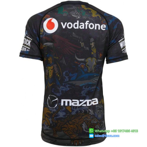 New Zealand Warriors 2020 Men's Nines Mayhem Rugby Jersey