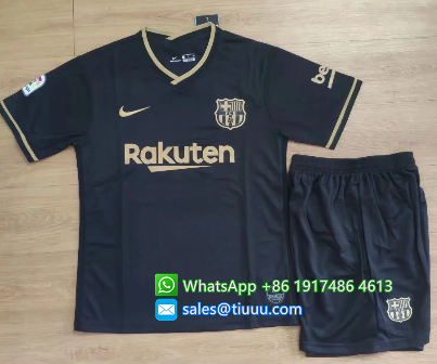 Barcelona 20/21 Away Soccer Jersey and Short Kit