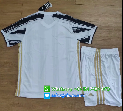 Juventus 20/21 Home Soccer Jersey and Short Kit