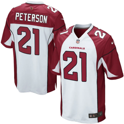 Youth Arizona Cardinals Patrick Peterson White Game Jersey