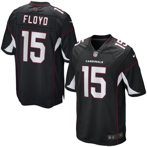 Youth Arizona Cardinals Michael Floyd Black Game Jersey