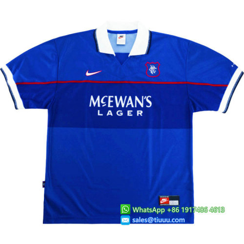 Rangers 1997-1999 Laudrup Home Retro Jersey