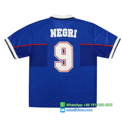 Rangers 1997-1999 Negri Home Retro Jersey
