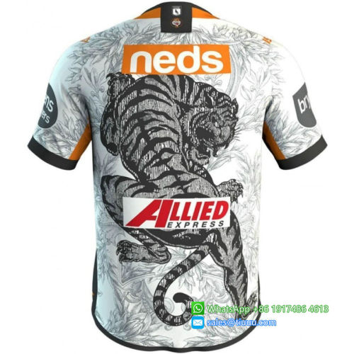 Wests Tigers 2020 Men's NRL Nines Rugby Jersey