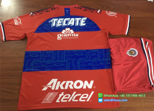Chivas 19/20 Away Soccer Jersey and Short Kit
