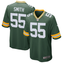 Men's Green Bay Packers Za'Darius Smith Green Game Jersey