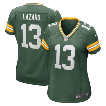 Women's Allen Lazard Green Green Bay Packers Game Jersey