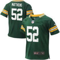 Toddler Green Bay Packers Clay Matthews Green Game Jersey