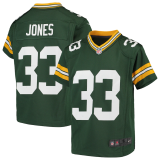 Toddler Aaron Jones Green Bay Packers Game Jersey - Green