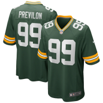 Men's Green Bay Packers Willington Previlon Green Game Jersey