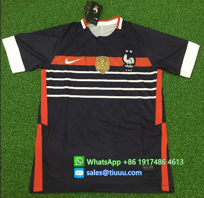 Thai Version France 2020 Training Soccer Jersey - 004