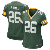 Women's Darnell Savage Green Green Bay Packers Game Jersey