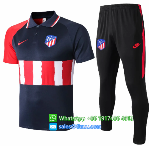 Atletico Madrid 20/21 Polo and Pants - C507