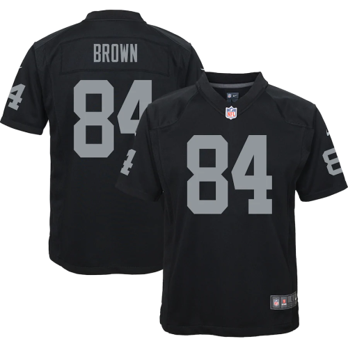 Youth Las Vegas Raiders Antonio Brown Black Game Jersey